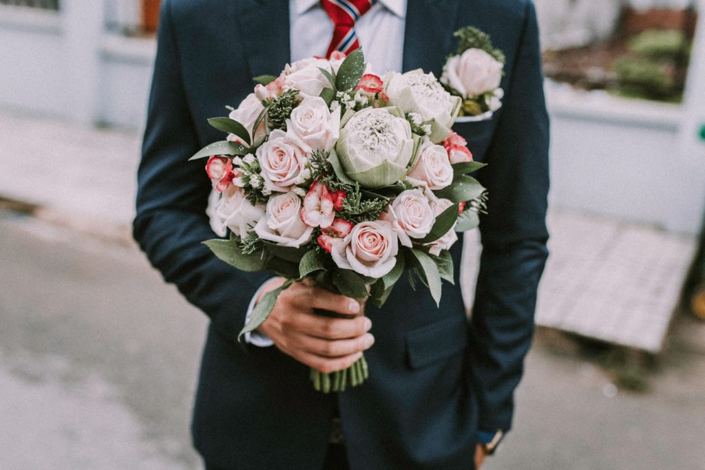 bukiety ślubne przez cały rok