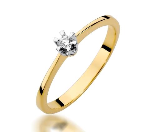 pierscionek dla narzeczonej - Złote pierścionki na oświadczyny!