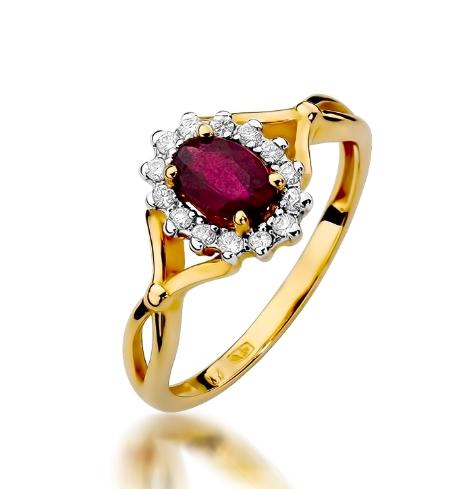pierscionki dla narzeczonych - Złote pierścionki na oświadczyny!